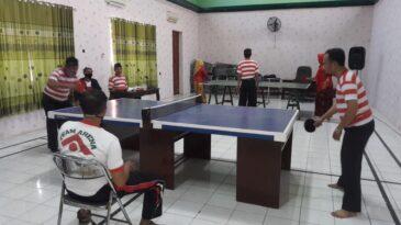 Uniknya, Lomba Tenis Meja HAB Kemenag ke-75 di Sampang