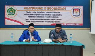 Mutakhirkan Data Pemilih, Kemenag Sampang Jalin Kerjasama Dengan KPU Sampang